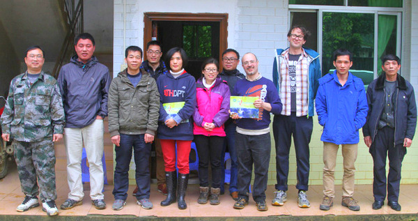 A field visit to Nonggang, March 2015